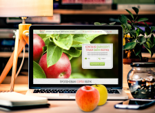FaynoFruit Apple Company Landing Page