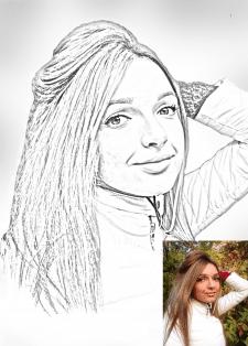 Обработка портрета
