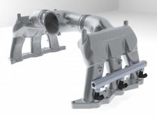 Воздушный коллектор автомобиля Порше (Инжиниринг)