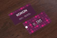 Дизайн визиток для аутлета