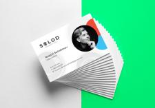 Дизайн визитки для видео-дизайнера
