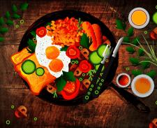 Food illustratoin