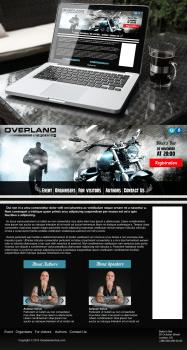 Сайт для реклами байкерского слета