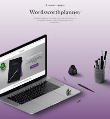 Wordsworthplanner   E-commerce shop design