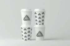 Дизайн стакана кофе (Quieets Art)