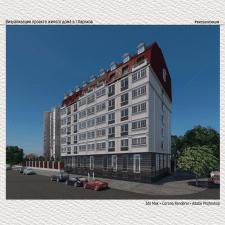 Визуализация проекта жилого дома в г.Харьков