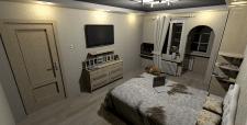 Двокімнатна квартира в НБ, 62 кв.м., спальня вид 2