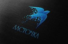 """Логотип магазина сувениров """"Ласточка"""""""