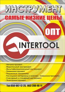 плакат для инструментов