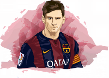 Lione Andres Messi