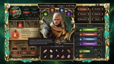 """верстка и анимация сайта браузерной игры """"Witcher"""""""