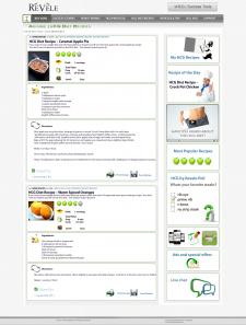 Сайт о еде