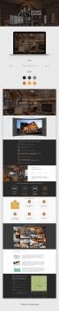 Tamper house landing page