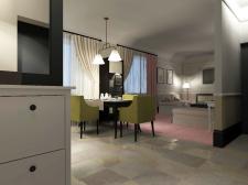 Интерьер гостиной_кухни
