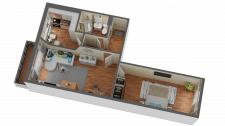 3D квартира
