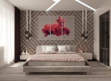 Спальня в 3-х комнатной квартире