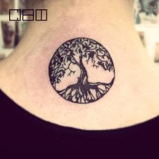 #Тату #дерево жизни