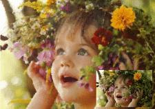 Стилизация фото в рисунок акварелью