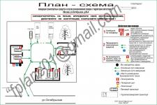 Схема эвакуации автотранспорта