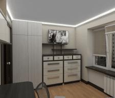 Мебель, визуализация, комод.