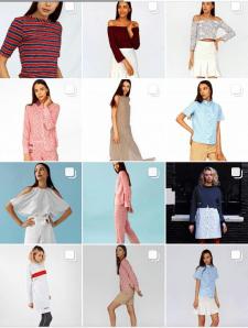Инстаграм Магазин одежды