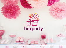 Logo for Event Delivery Company BoxParty
