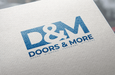 "Logo for ""Doors & More"""