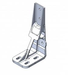 Модель авиационного кронштейна