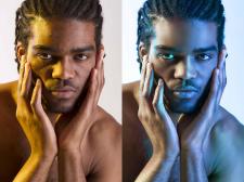 Ретушь мужского портрета #2