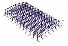Просчет конструкции и подбор сечения элементов
