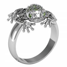 Кольцо-лягушка