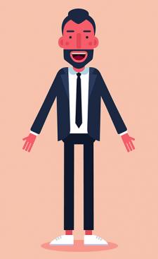 Персонаж для видео