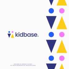 Kids K Letter Logo