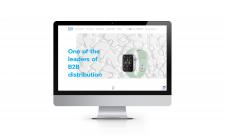 Landing page компанії з продажу цифрової техніки