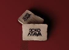 EskoLtava logo and business card