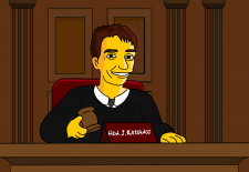 Портрет на судью Симпсона
