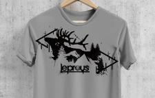 принт на футболку для норвежской рок группы