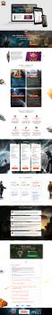 """Landing page """"CyberFox"""""""