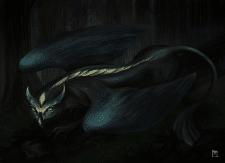 Дракон сова