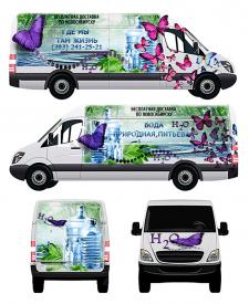 Дизайн машины по доставке питьевой воды