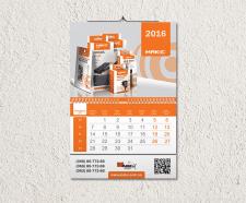 """Дизайн календаря для компании """"Mакс"""""""