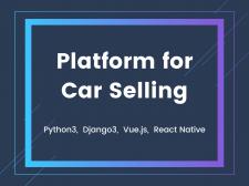 Platform for Car Selling