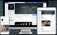 SMM продвижение виномаркета Whisky&Wine