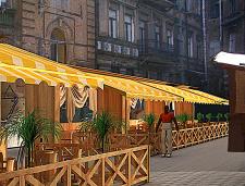 Проект летней площадки для кафе!