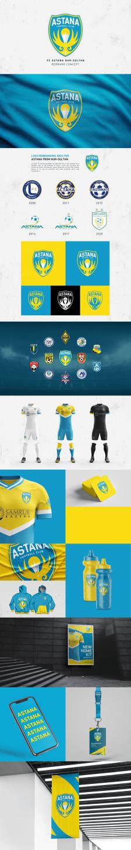 FC ASTANA   rebrand concept 2020