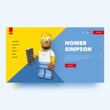 Дизайн первого экрана