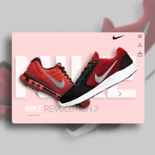 Landing for Nike Shoes