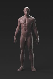 скульптура мужчины