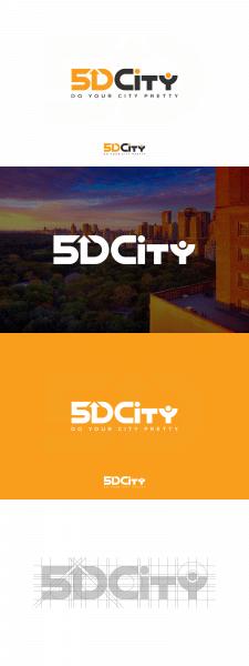 Логотип 5D City