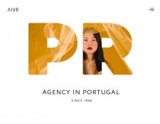 Дизайн сайта PR агентства